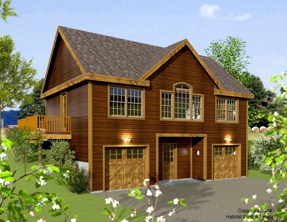 Habitat post beam vaca house plans pinterest beams for Post beam garage plans