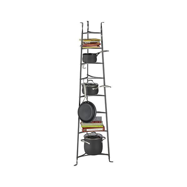 Enclume Standing 8 Tier Pot Rack Crate And Barrel
