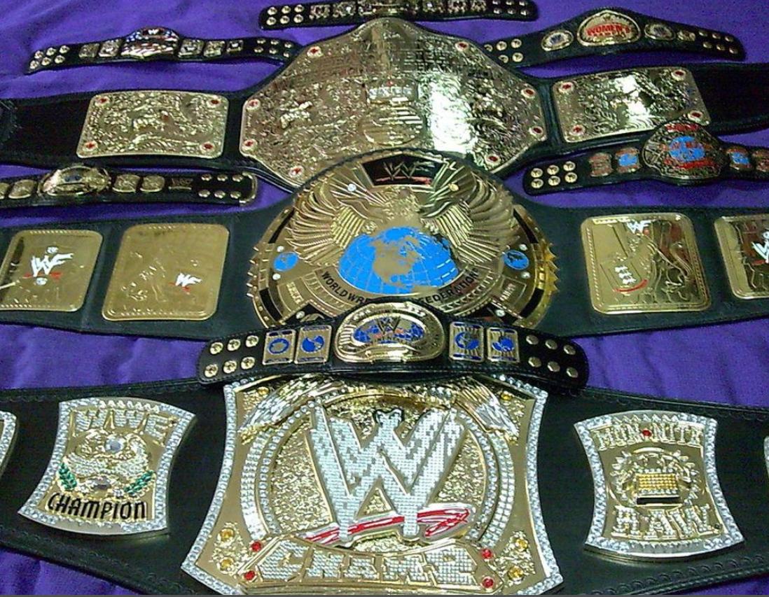 Wwe Aew Championship Belts