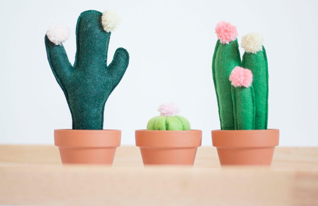 DIY : comment faire des cactus en feutre ?