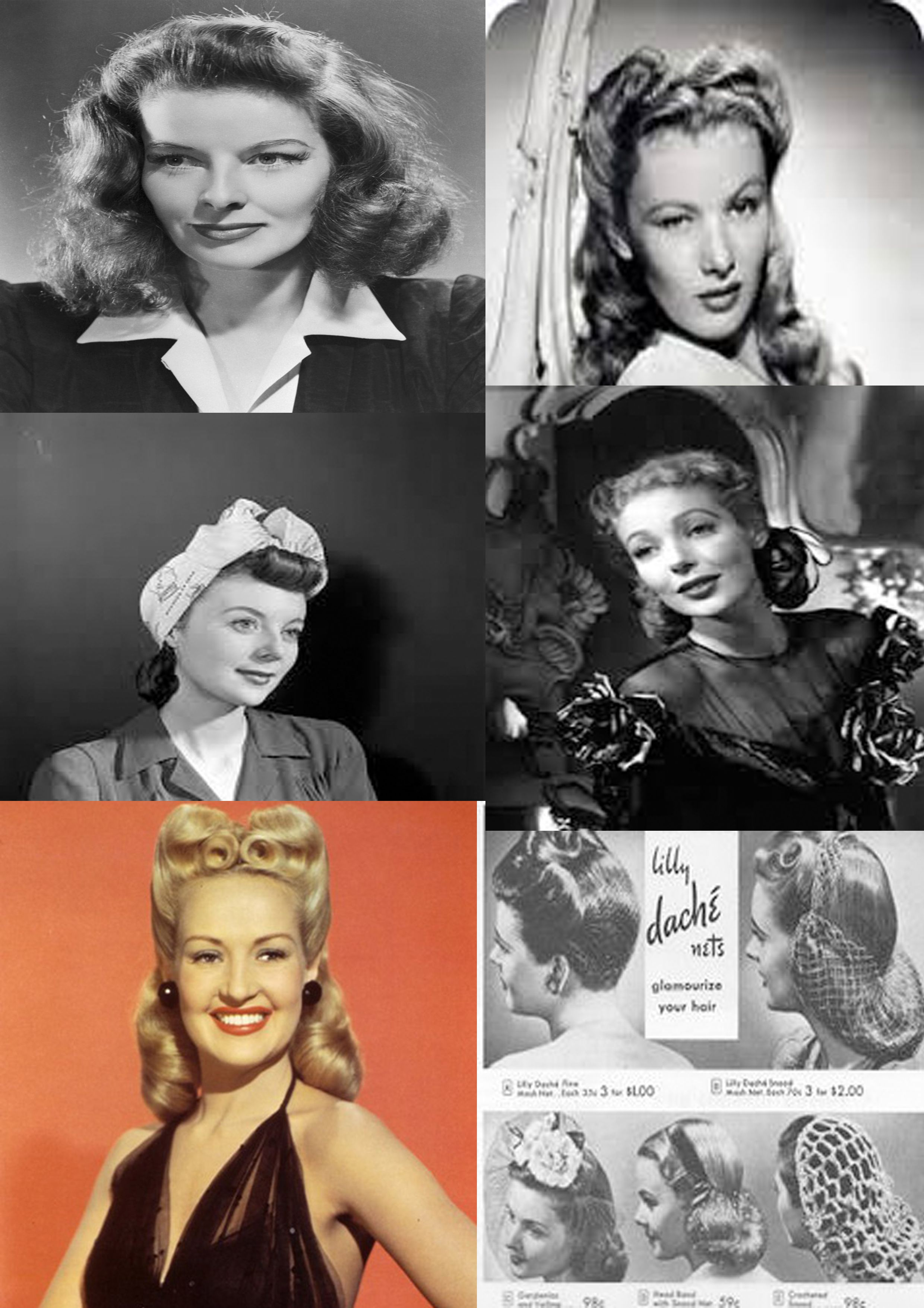 s hairstyle perfect coiffed roll and victory roll were most