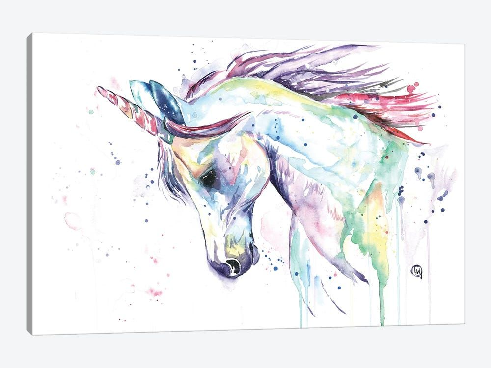 Alabama, USA Wanna-be-Unicorn-- ORIGINAL painting Watercolor , Istanbul,Turkey watercolor landscape original watercolor, painting