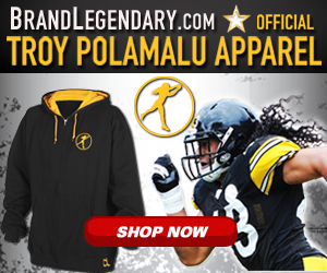 innovative design 6631e 2b560 TROY POLAMALU NEW PLAYMAKER ICON COLLECTION AT BRAND ...
