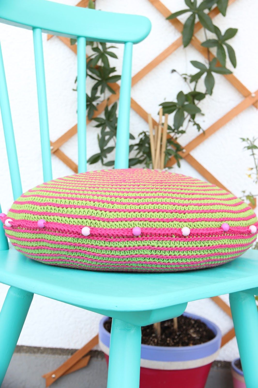 Free crochet cushion pattern