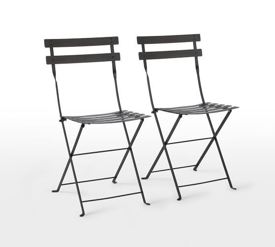 Fermob Metal Bistro Chair Set Of 2 Metal Bistro Chairs Bistro Chairs Fermob