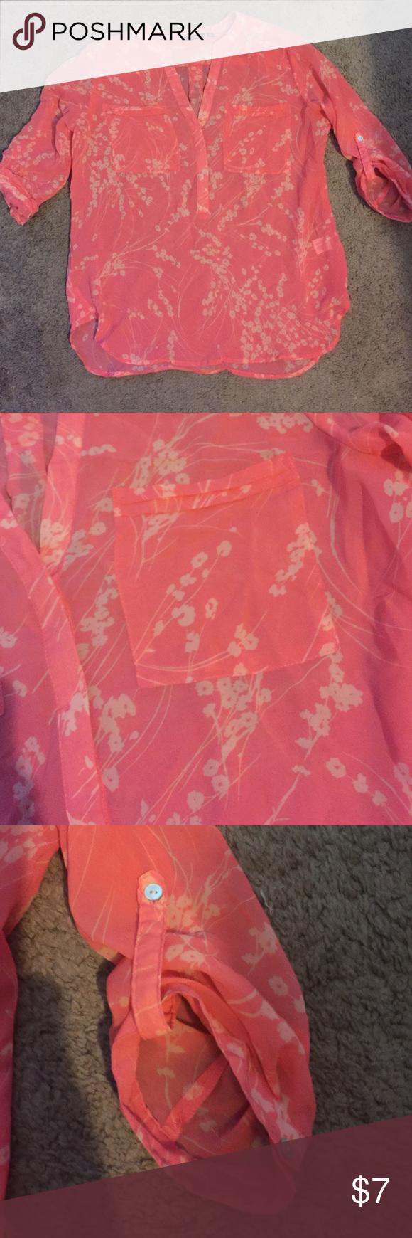 Sheer Like New Apt 9 Shirt My Posh Closet Shirts Closet