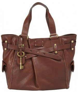 Womens Leather Handbags Fossil Women Bag W Adrina Tote Brown Zb5166200 Co Uk Shoes Bags