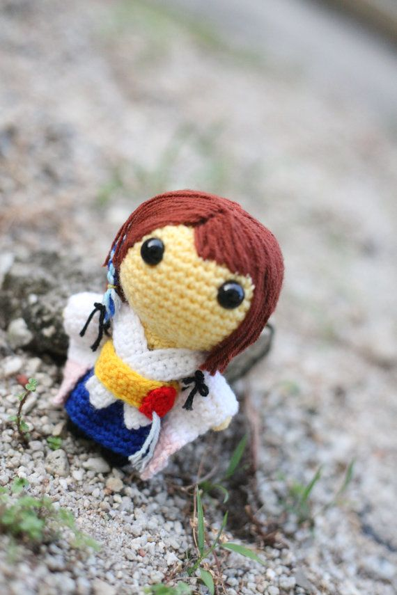 Pattern Yuna Final Fantasy X - Amigurumi Crochet -1142