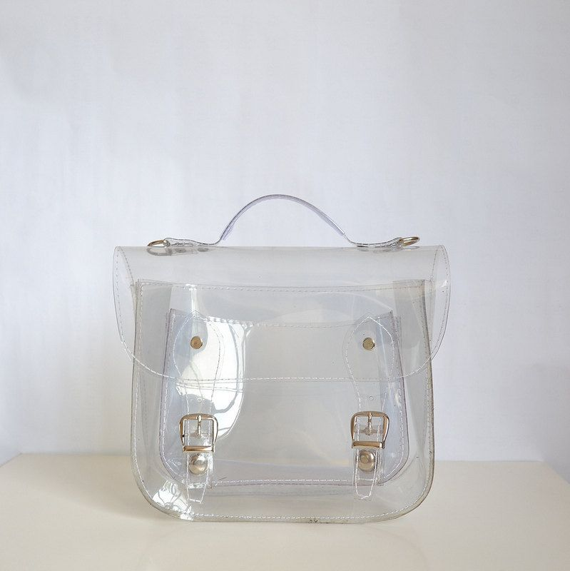 9c3c14c6df8 Bag number 3 Small transparent plastic satchel