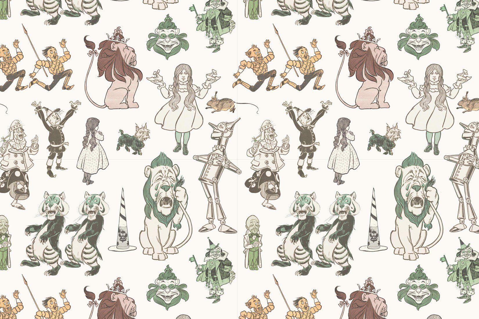 Wizard Of Oz Wallpaper Mural Muralswallpaper Wizard Of Oz