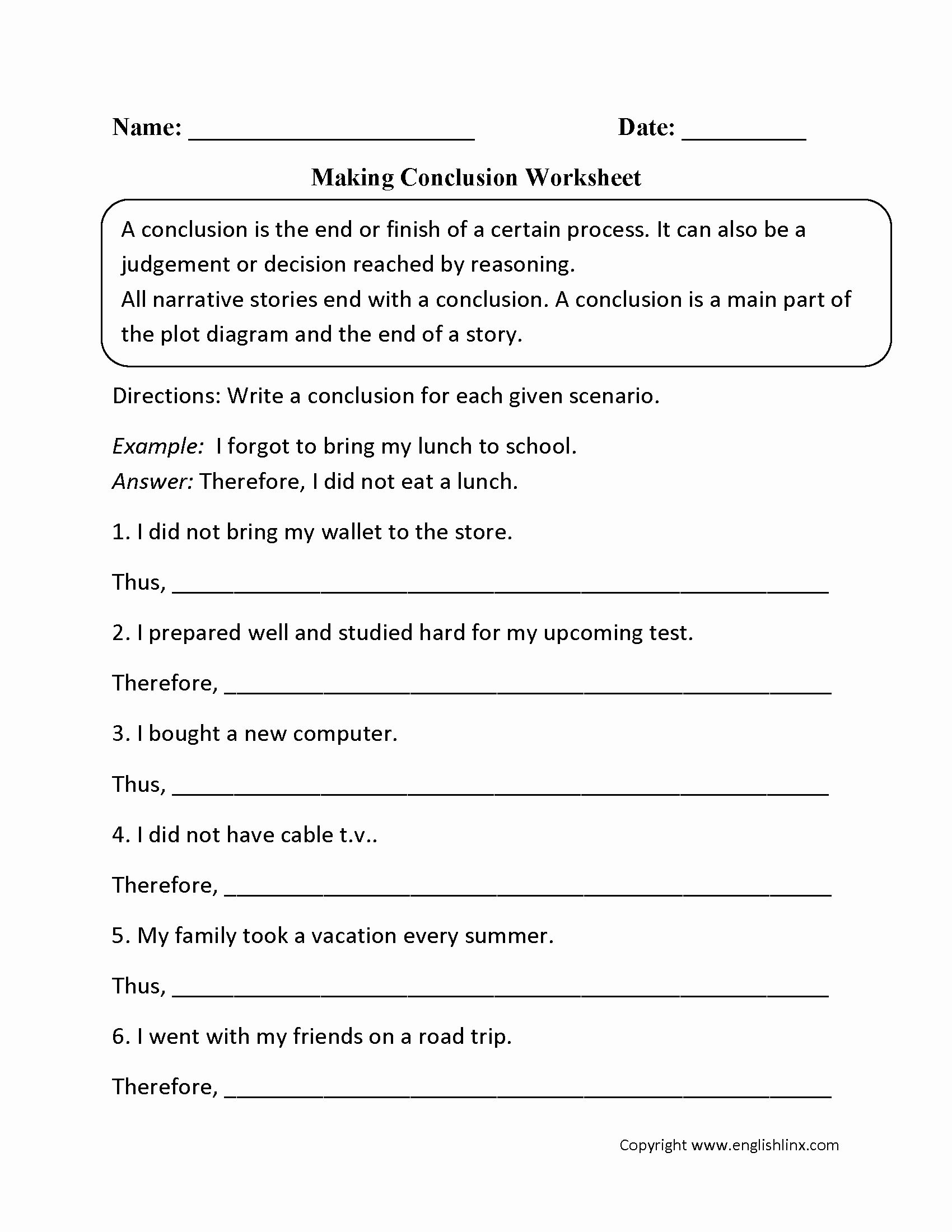 Writing Process Worksheet Luxury Englishlinx