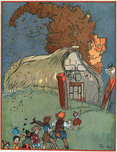 Illustrations by Felix Lorioux for  three tales from Perrault published in 1926.