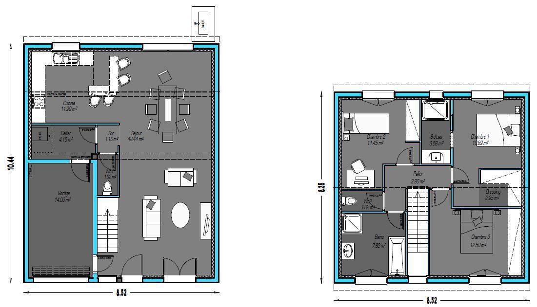 mod le de maison wego propos par so 39 9 habitat retrouvez. Black Bedroom Furniture Sets. Home Design Ideas