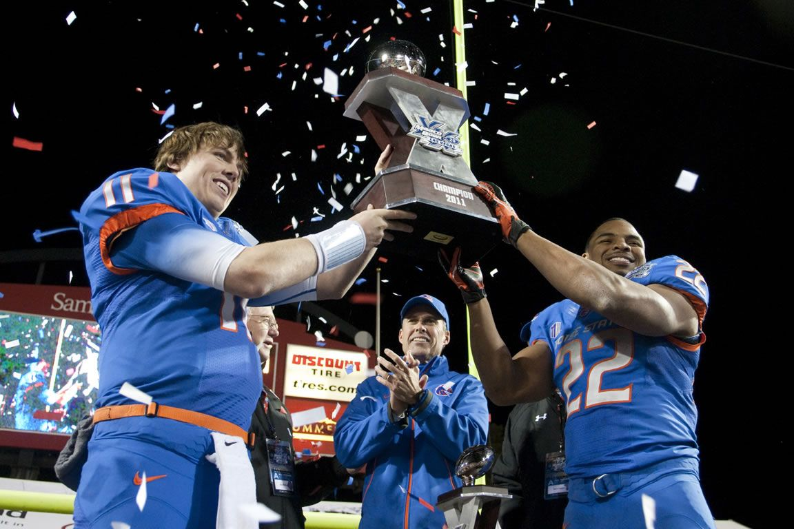 2011 Maaco Bowl Las Vegas Highlights Boise State