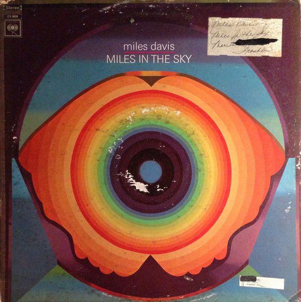 Miles Davis Miles In The Sky At Discogs In 2020 Miles Davis Album Cover Design Album Art