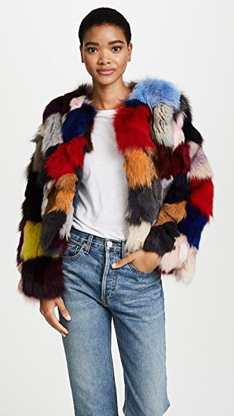 f62e8f0a47cd Vero Moda Tall Long Faux Fur Jacket - Red | Shop the look products | Fur  jacket, Faux fur jacket, Faux fur
