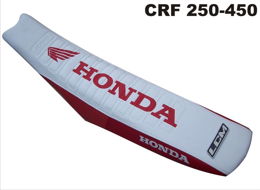 SEAT COVER ULTRA GRIP HONDA CRF 250 / CRF 450! 2002-2008 .EXCELLENT QUALITY! #lcmcovers