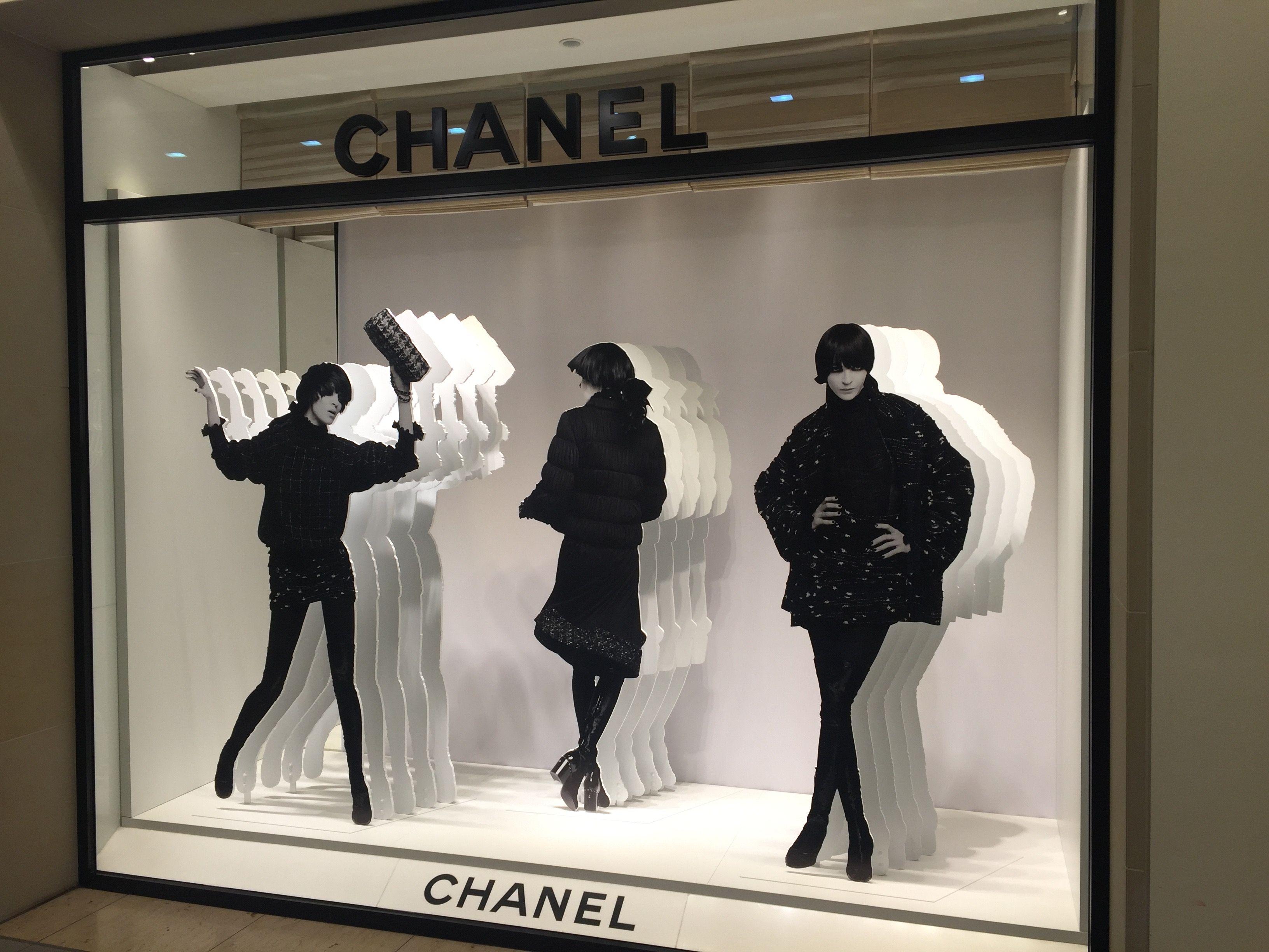 Chanel Berlin chanel at kadewe berlin great movement from layers window