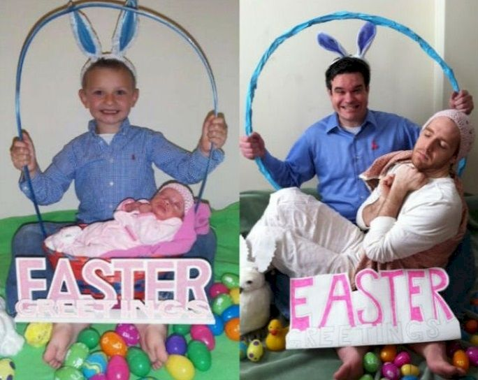 20 heartwarming recreated family portraits