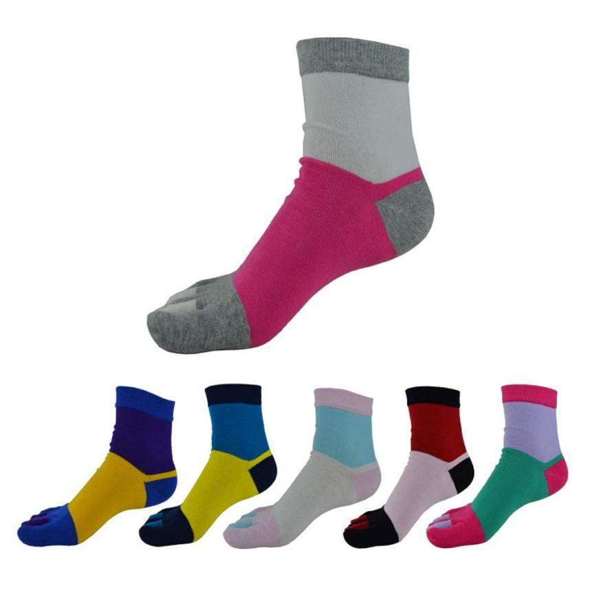 Hot Sale Ladies Sock! Five Fingers Meias Woman Socks Girls Cotton Running Sox Women Yoga Sports Socks Feb17