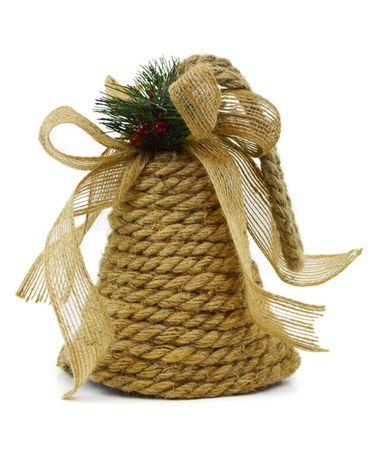 Bell Decor Brilliant Holiday Bell Décor  Holidays Ornament And Burlap Inspiration