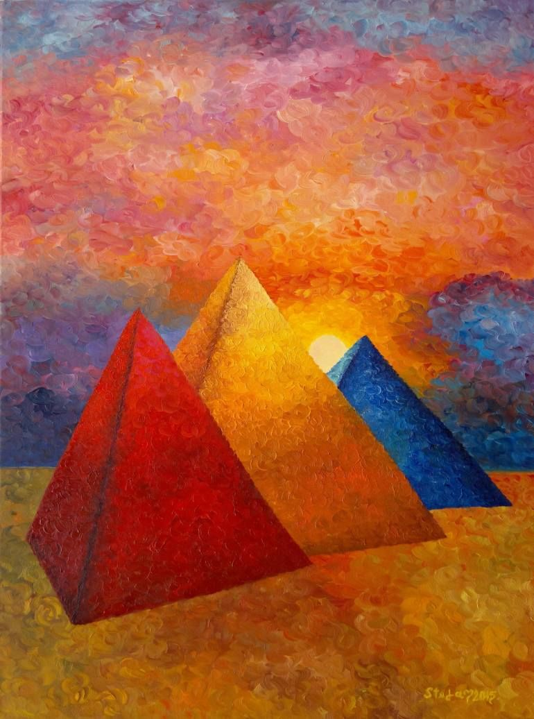 Saatchi art oil painting rural landscape at dawn painting by - Saatchi Art Artist Stefan Silvestru Painting Three Kings