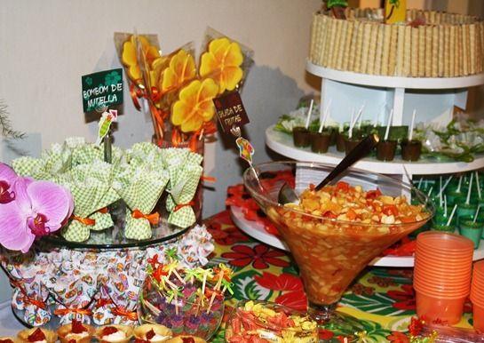 Decoração Havaiana Simples - Resultado de imagem para decoraç u00e3o para festa havaiana simples FESTA HAVAIANA Pinterest