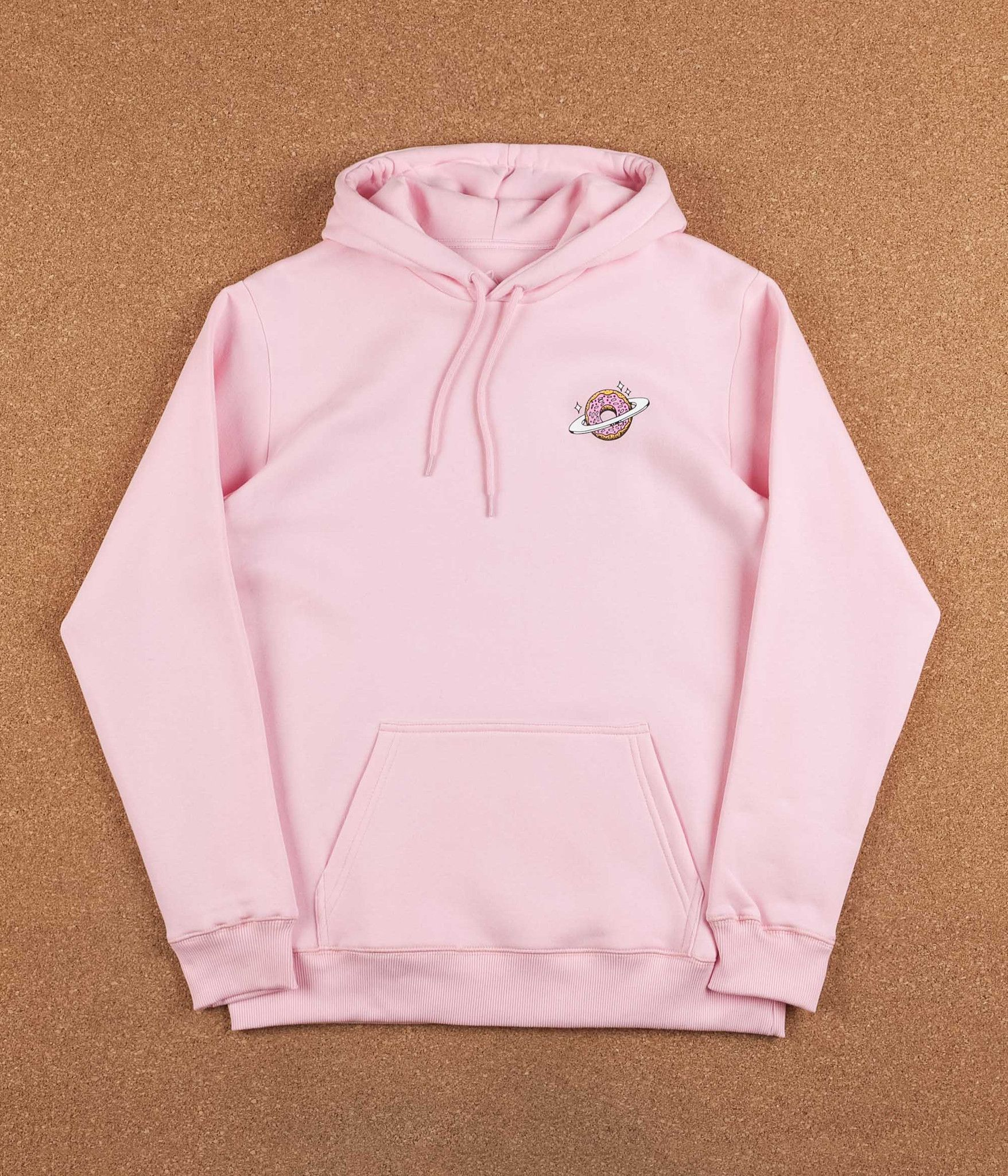 9a8d2eaa662 Skateboard Cafe Planet Donut Hooded Sweatshirt - Pink