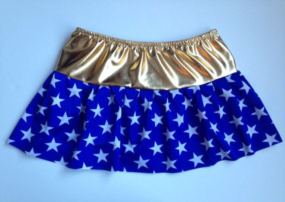 Wonder Woman inspired running skirt only | Running costumes