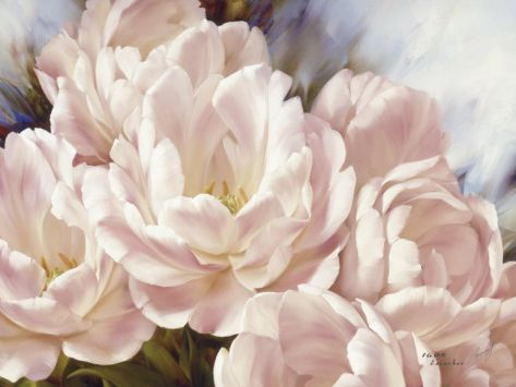 Angelique Tulips | Art flowers, Watercolor and Flower watercolor