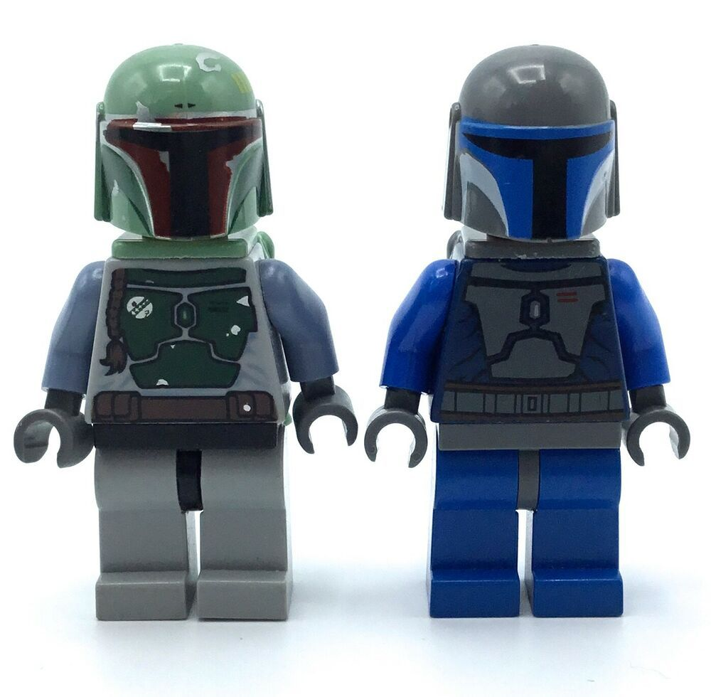 Lego star wars Mandalorian Minifigures Lot Bounty Hunters