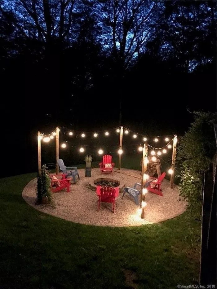 Photo of 45 awesome diy fire pit plans ideas with lighting in frontyard 3 ~ Litledress