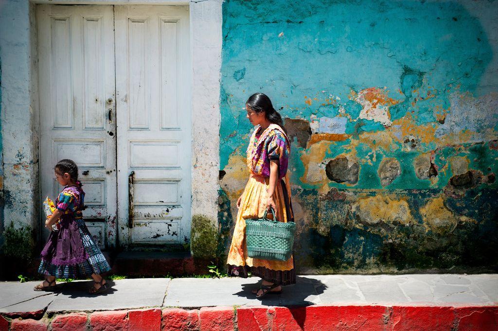 Mother & Daughter - Xela - Guatemala
