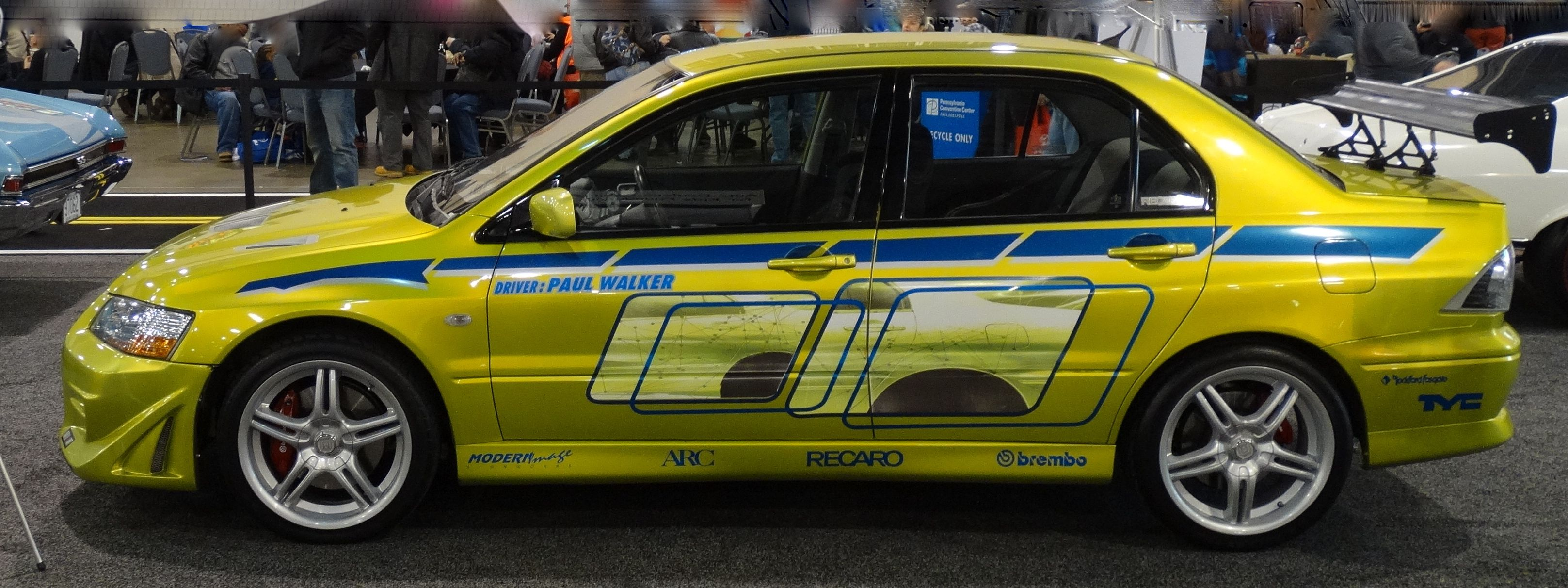 paul walkers 2 fast 2 furious car cars pinterest cars