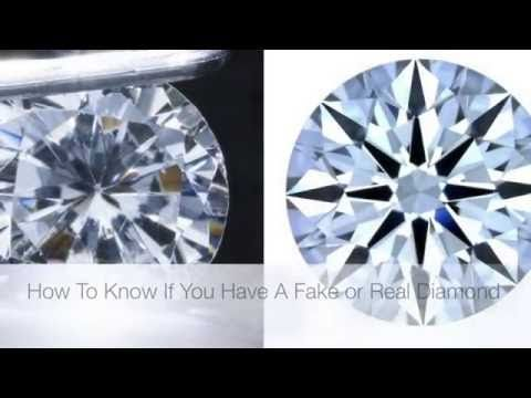 4 Easy Ways To Tell If You Have A Real Or Fake Diamond Real Diamonds Fake Diamond Diamond