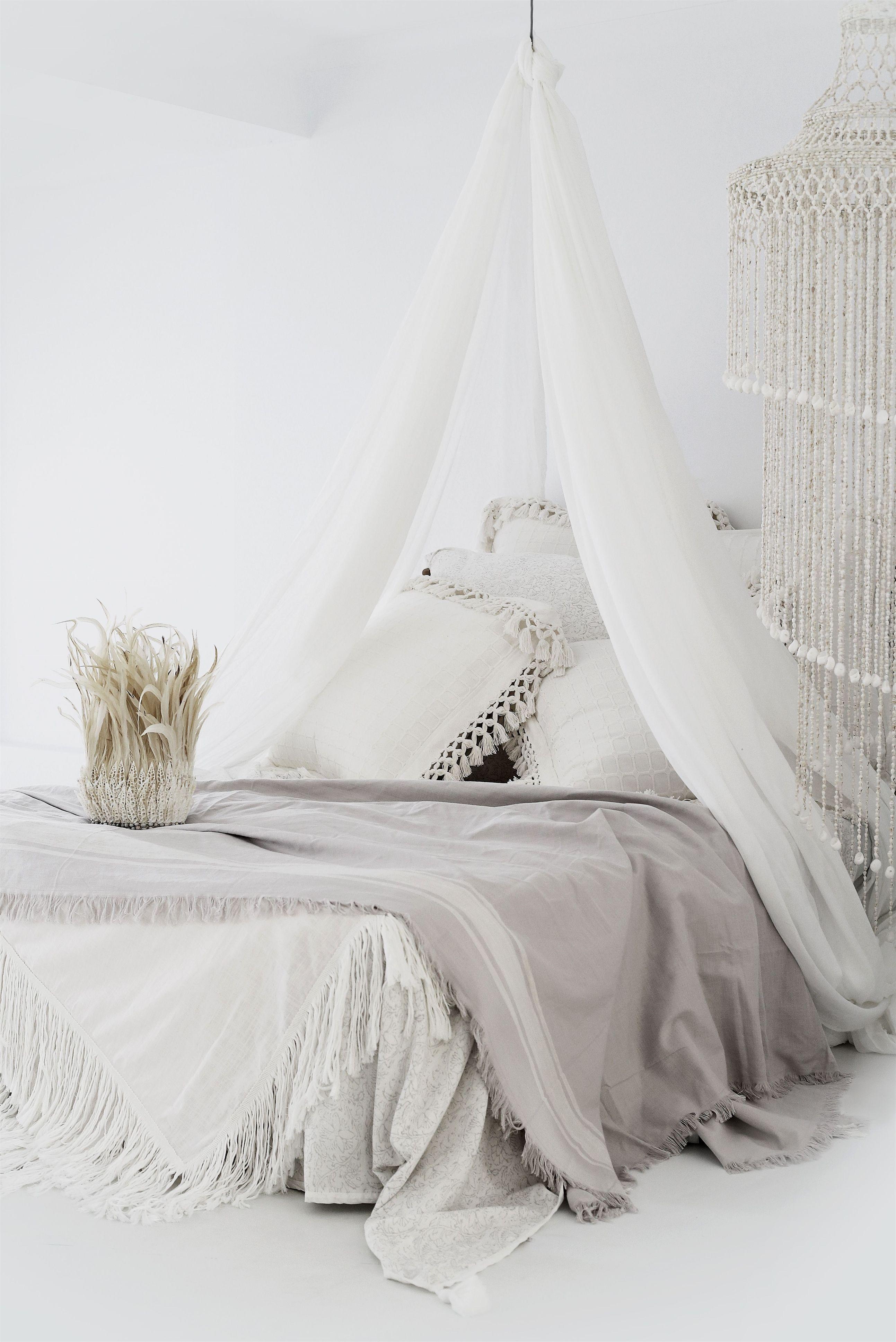 Natural Boho Comfortablebed Slaapkamerideeen Slaapkamer Interieur