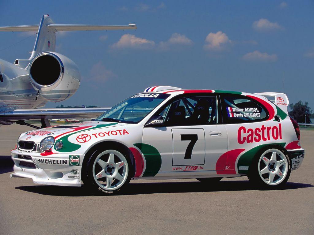 Toyota Corolla Compact WRC (AE111) \'1997–99 | Tuners | Pinterest ...