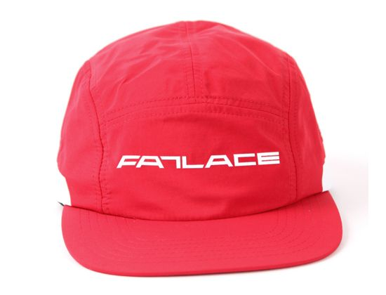 8d786264200 Fatlace AMG Red 5 Panel Cap by FATLACE