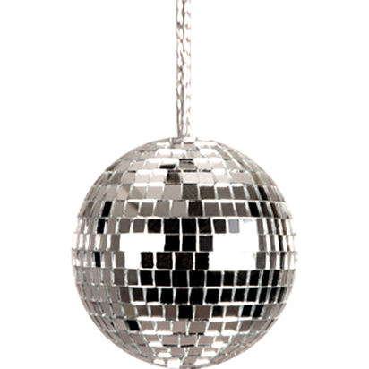 disco bal ketting front themafeest seventies pinterest