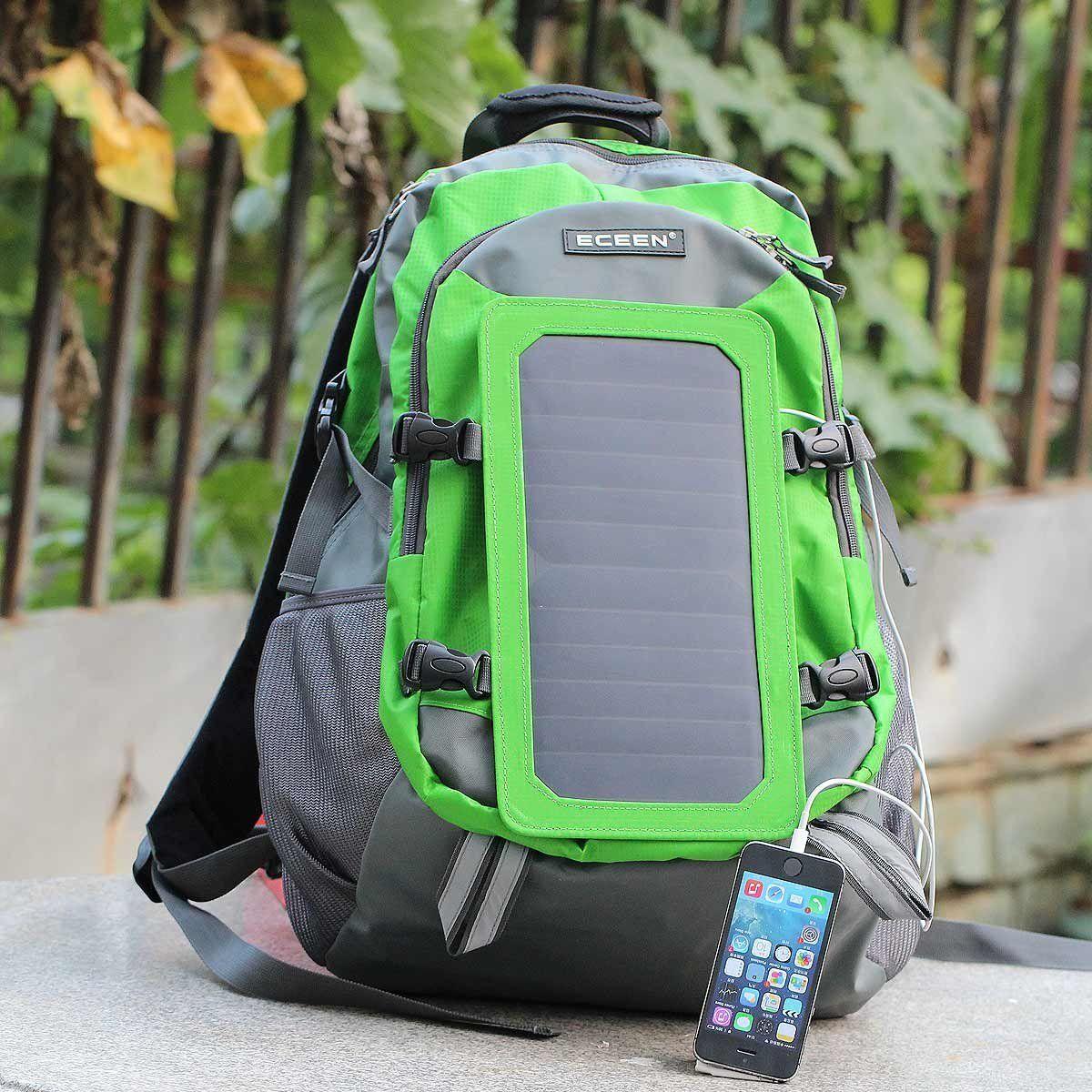 b21fbd00c2 ECEEN® 7Watts Solar Backpack