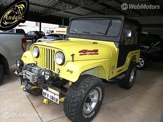 Ford Jeep Cj 5 Webmotors 13413392 Jipe Cj Jeep Jeep Willys