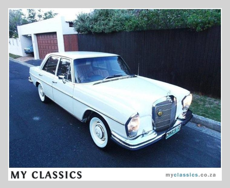 1969 Mercedes-Benz w108 280s classic car