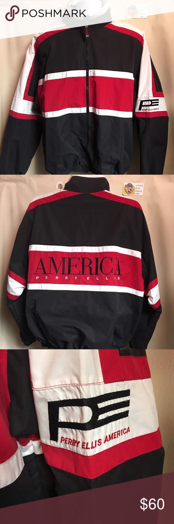 e0ddebcdbc Vintage Perry Ellis America Men s Large Jacket Gently Worn Men s Large Vintage  Perry Ellis America Jacket. In great condition with no major flaws.