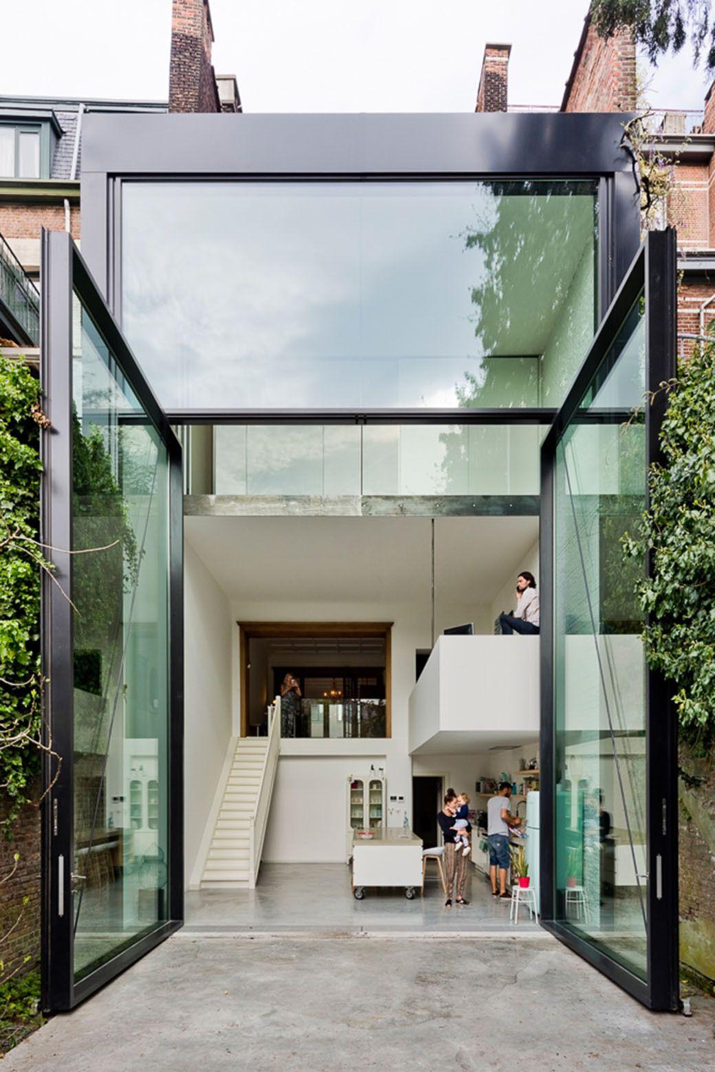 Photo of Contemporary House Extension bietet die größten drehbaren Türen der Welt – Haus Und Deko