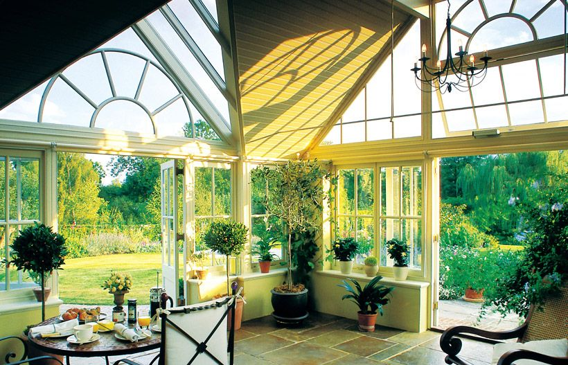 Garden Room Sunroom And Conservatory Planting And Gardening Ideas