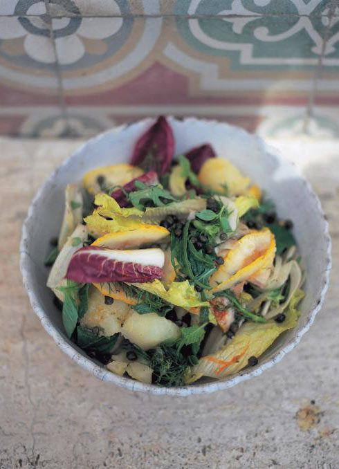 street salad insalata di strada rezept food pinterest vegetarisch und salat. Black Bedroom Furniture Sets. Home Design Ideas