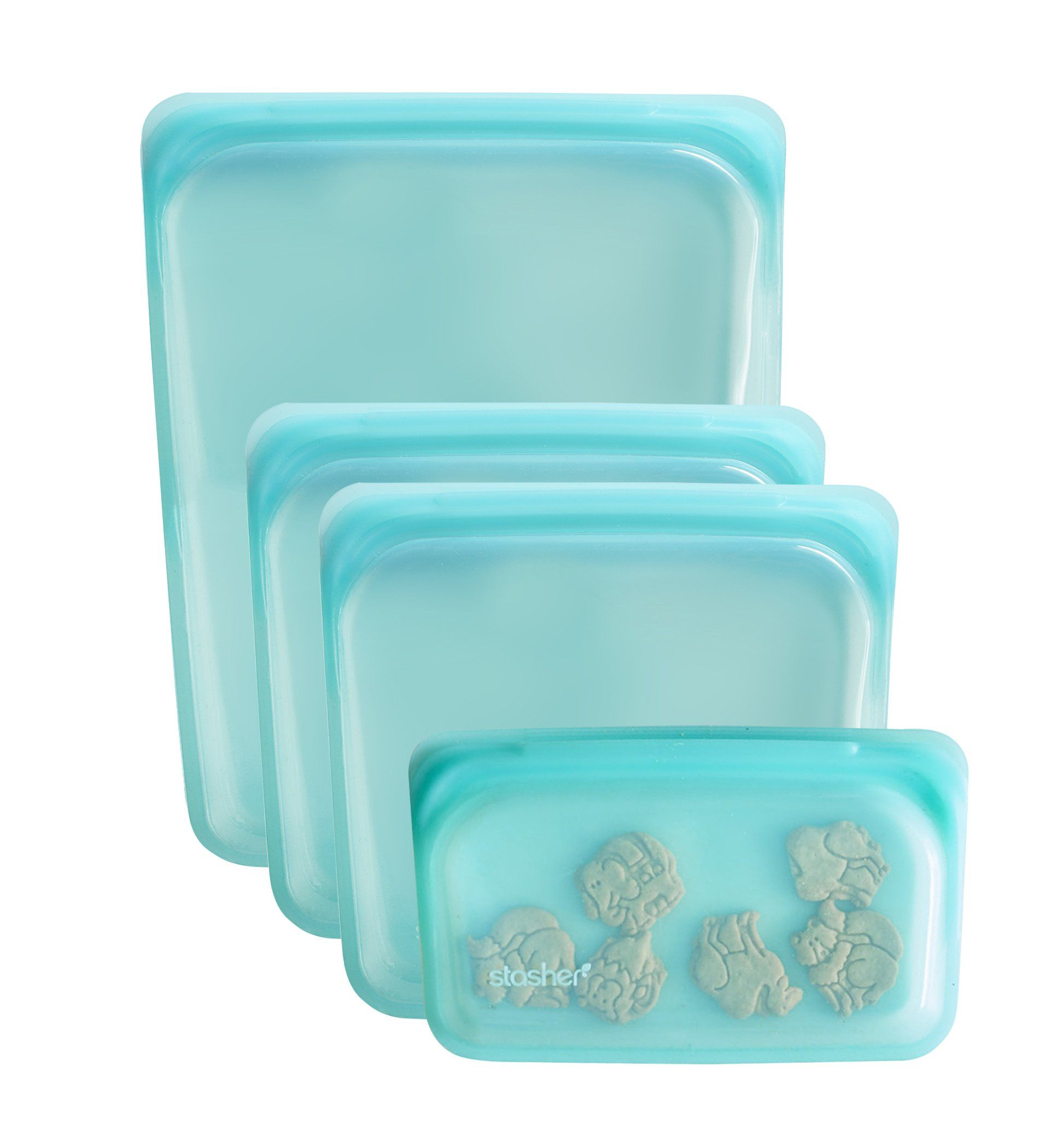 Reusable Silicone Bag Multi Pack In 2020 Plastic Free Kitchen Plastic Free Cheap Dinnerware Sets