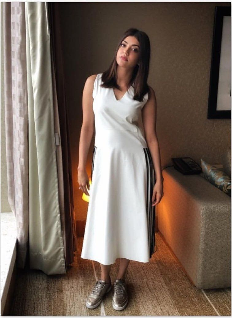 Kajal Aggarwal Short Long Dresses Dress Hairstyles Model