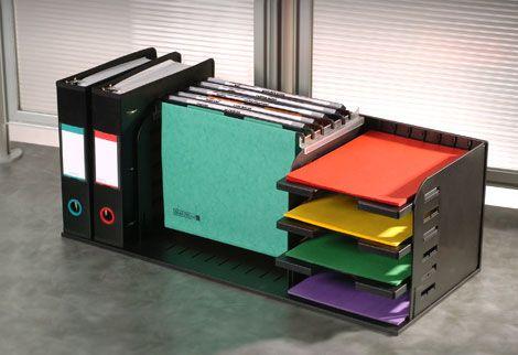 Teacher Desk Organization Desktop Hanging File Racks Ultimate Office