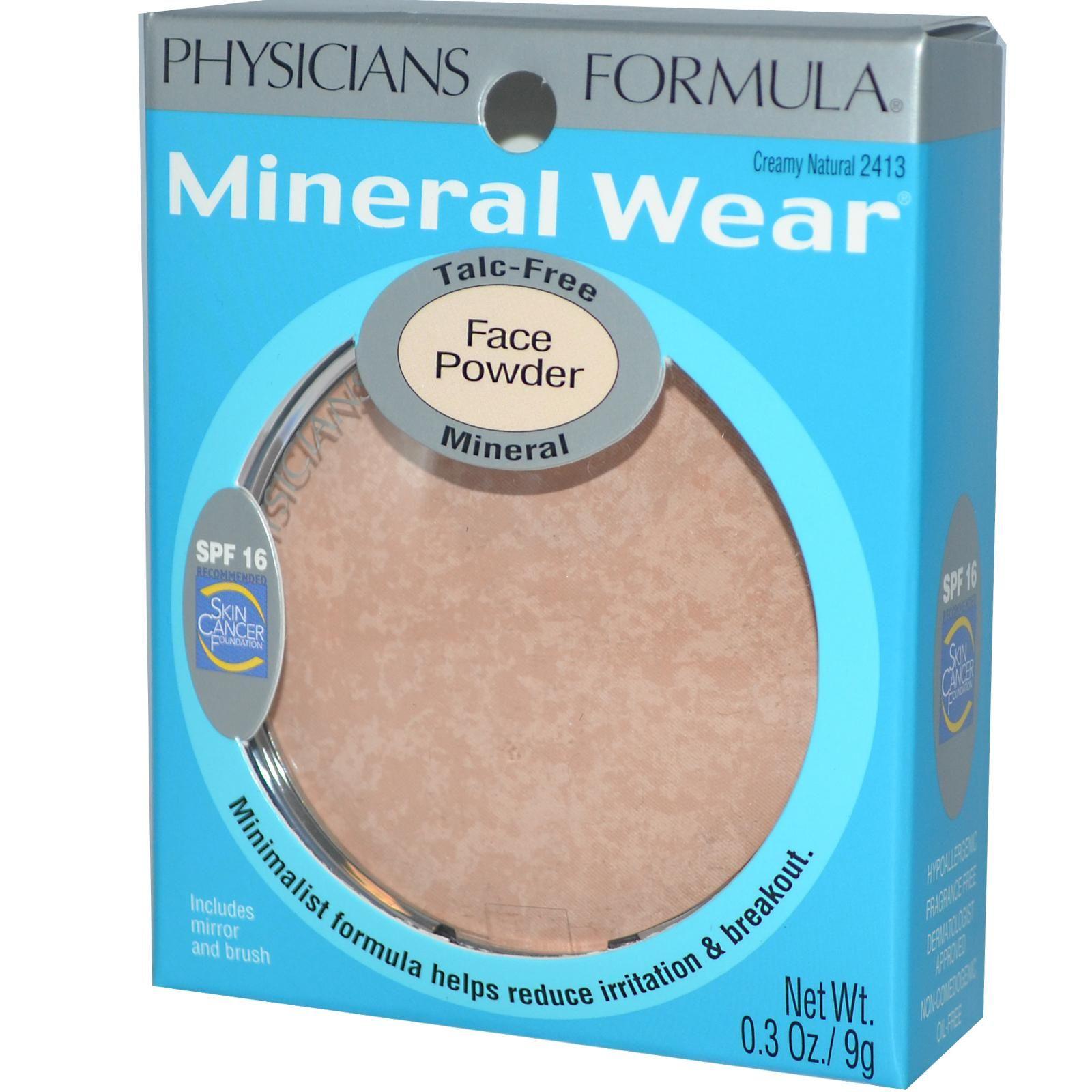 Physicians Formula, Mineral Wear, Face Powder, SPF 16